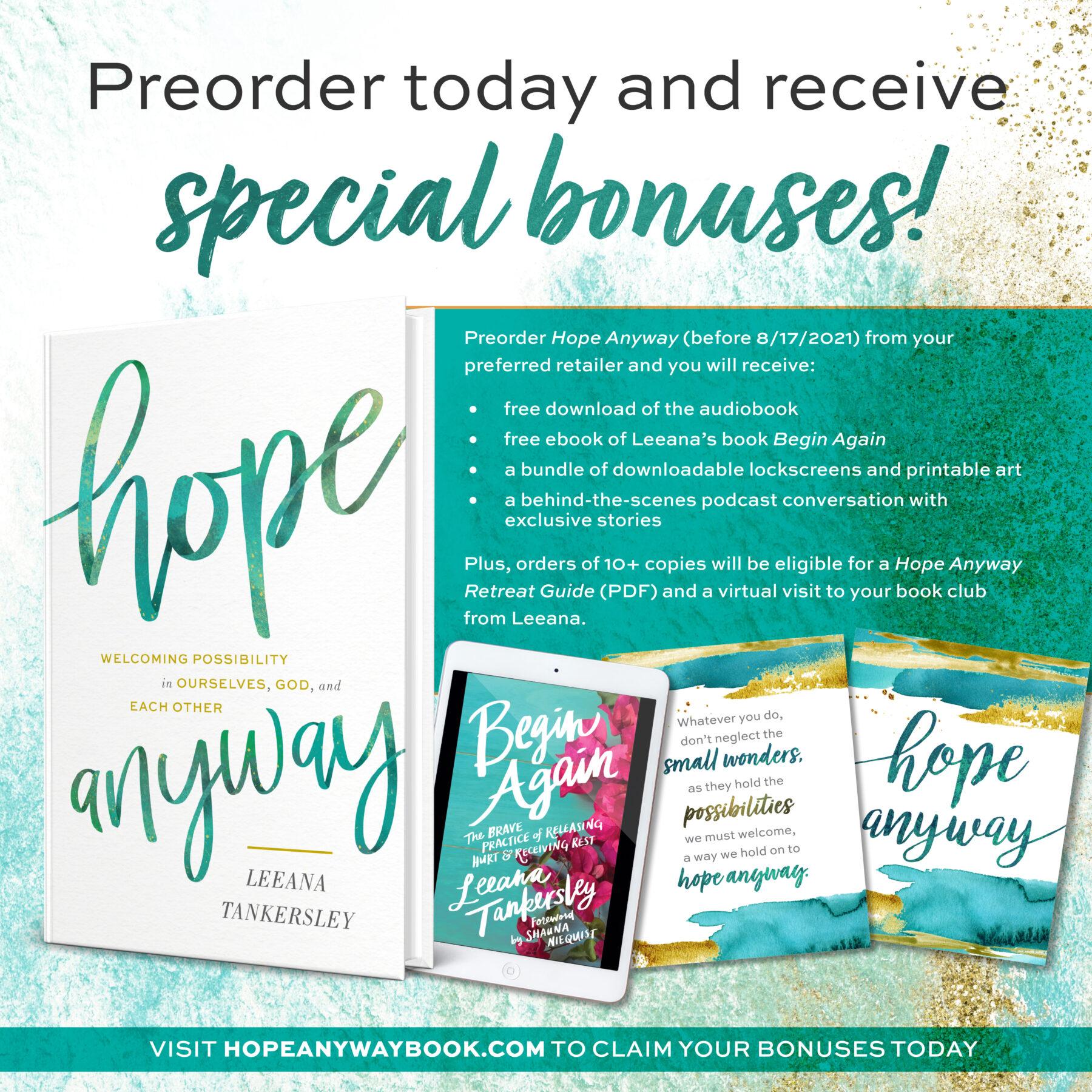 Claim Your Preorder Bonuses SOON!